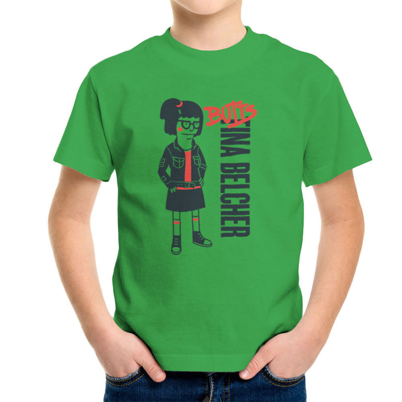 Butts Tina Belcher Bobs Burgers Kid's T-Shirt by Create Or Destroy - Cloud City 7