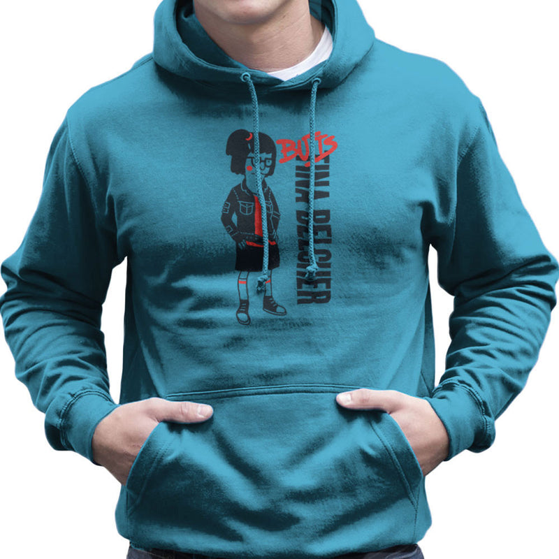 Butts Tina Belcher Bobs Burgers Men's Hooded Sweatshirt by Create Or Destroy - Cloud City 7