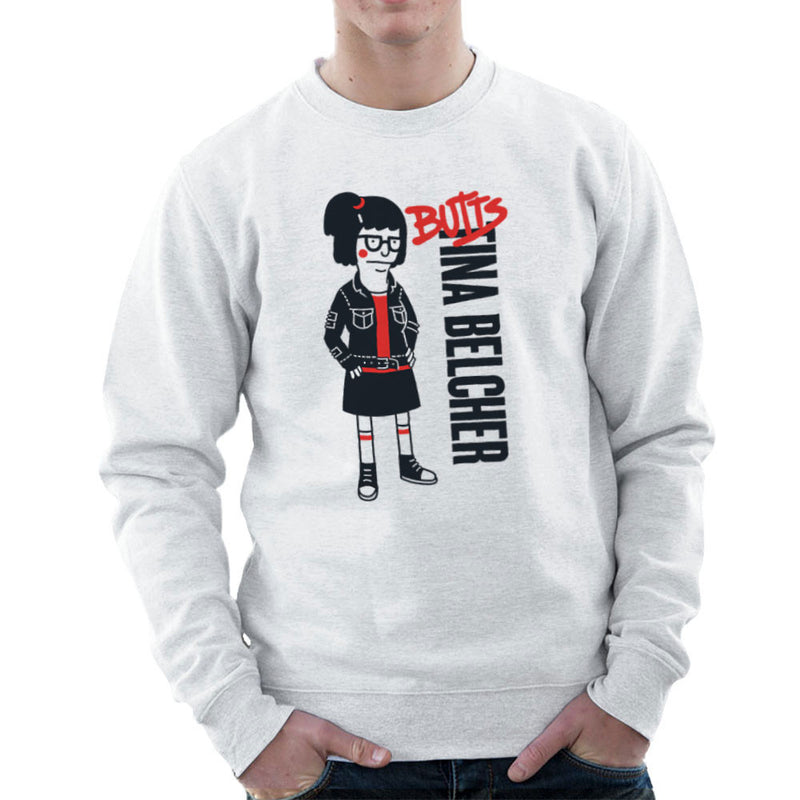 Butts Tina Belcher Bobs Burgers Men's Sweatshirt by Create Or Destroy - Cloud City 7