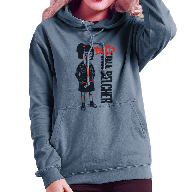 Butts Tina Belcher Bobs Burgers Women's Hooded Sweatshirt by Create Or Destroy - Cloud City 7