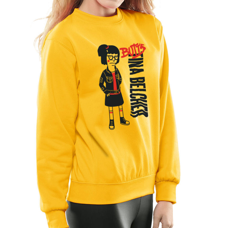 Butts Tina Belcher Bobs Burgers Women's Sweatshirt by Create Or Destroy - Cloud City 7