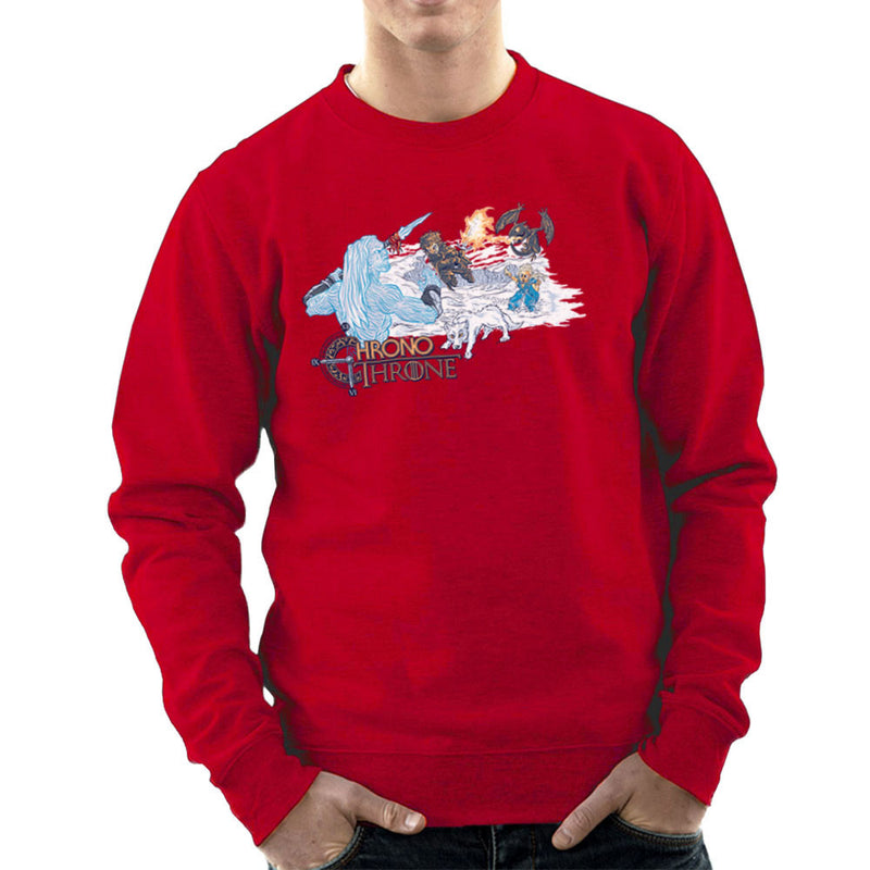 Chrono Throne Game of Trigger Men's Sweatshirt by Create Or Destroy - Cloud City 7