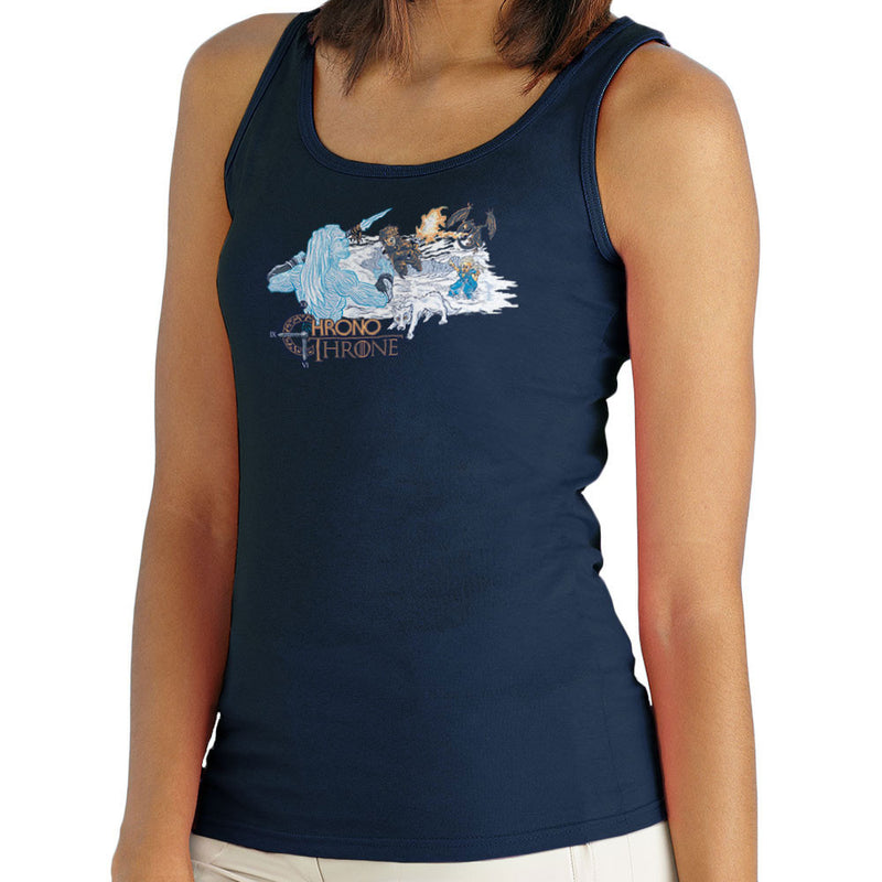Chrono Throne Game of Trigger Women's Vest by Create Or Destroy - Cloud City 7