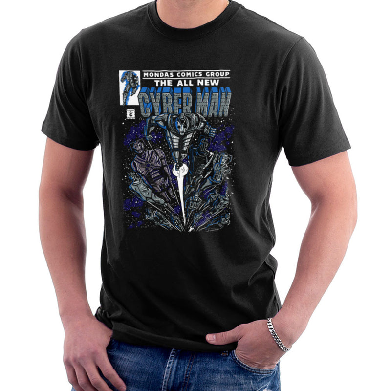 Cyberman Doctor Who Classic Comic design Cloud City 7 - 2