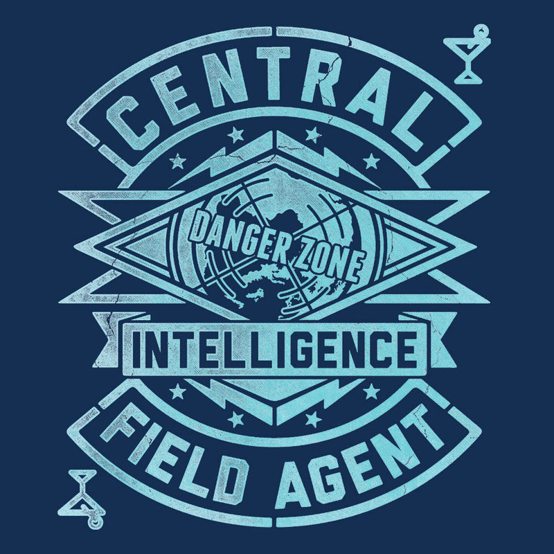 Central Intelligence Field Agent Danger Zone Archer Women's Vest by Create Or Destroy - Cloud City 7