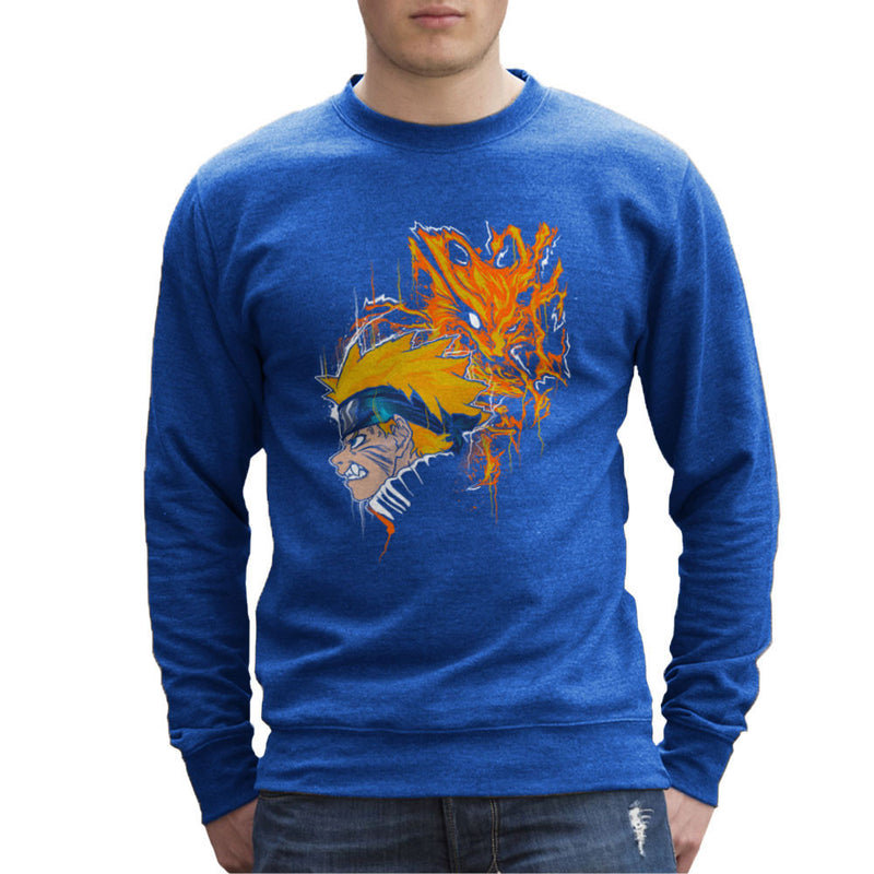 Demon Fox Naruto Men's Sweatshirt by Create Or Destroy - Cloud City 7
