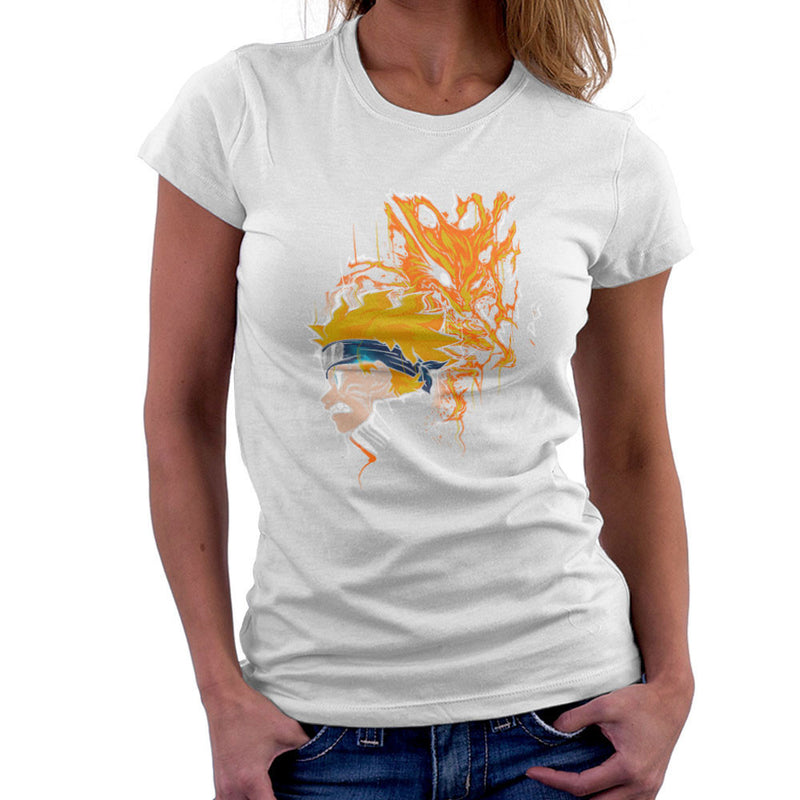 Demon Fox Naruto Women's T-Shirt by Create Or Destroy - Cloud City 7