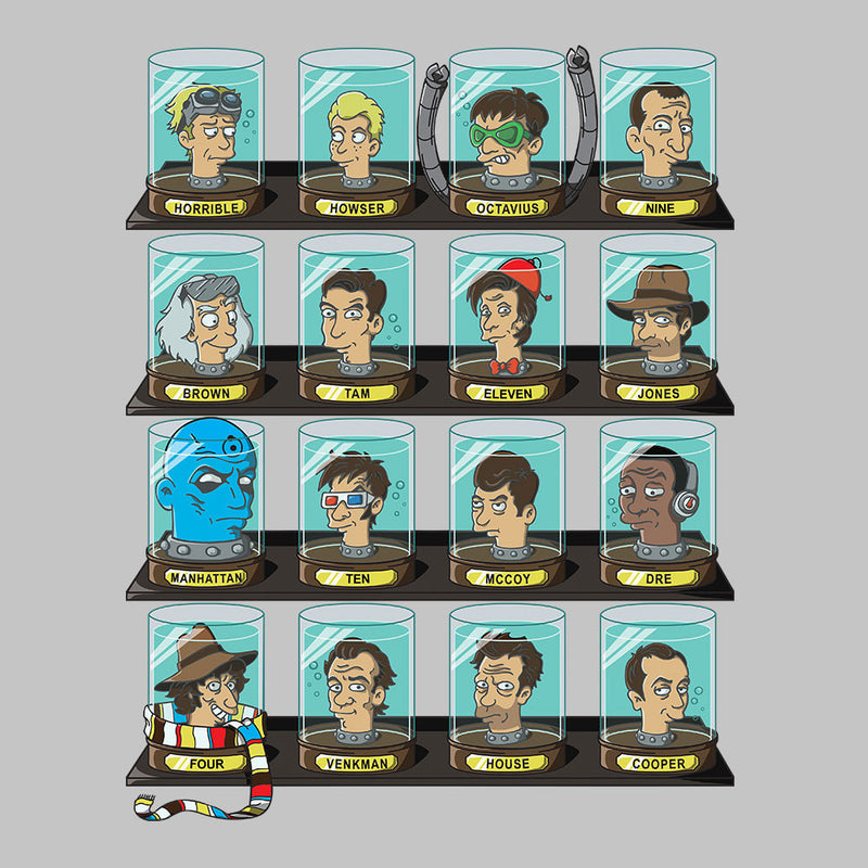 DOC Futurama Pop Culture Heads In Jars by Create Or Destroy - Cloud City 7