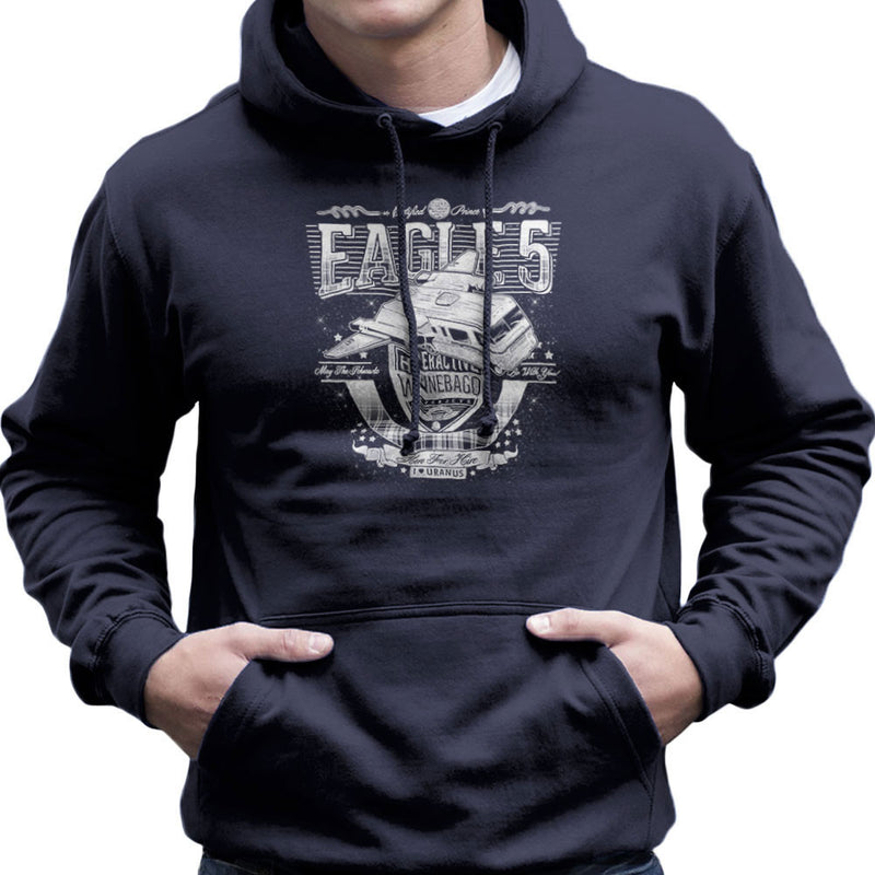 Eagle 5 Hyperactive Winnebago Spaceballs Men's Hooded Sweatshirt by Create Or Destroy - Cloud City 7