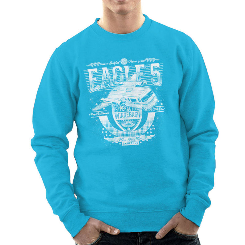Eagle 5 Hyperactive Winnebago Spaceballs Men's Sweatshirt by Create Or Destroy - Cloud City 7