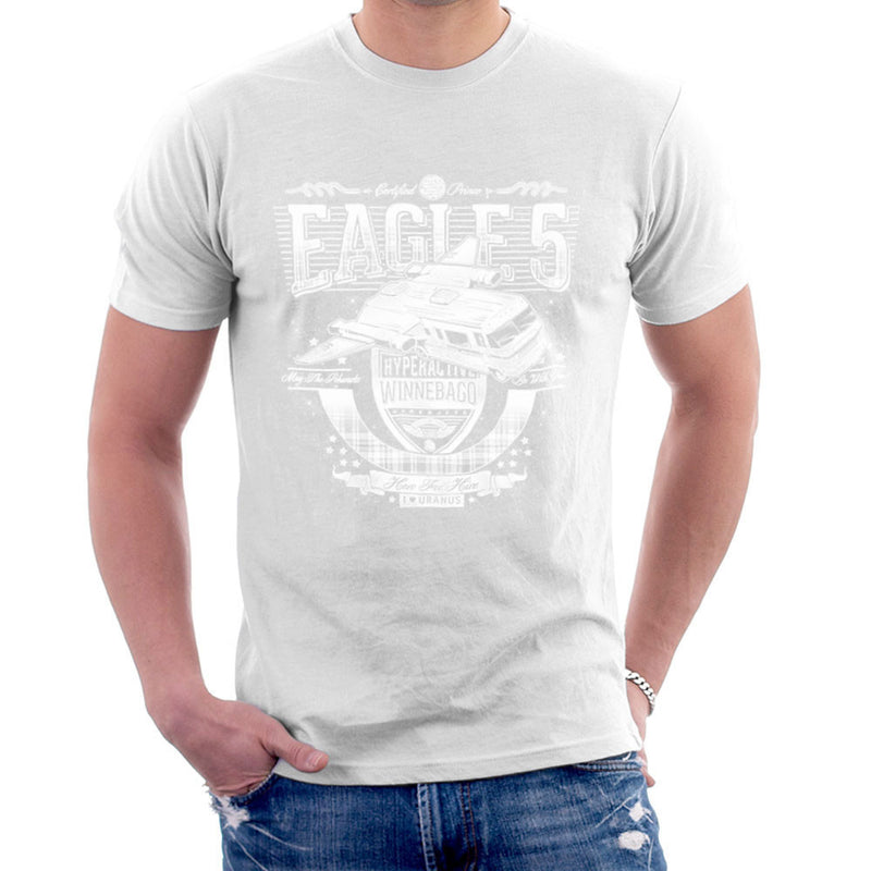Eagle 5 Hyperactive Winnebago Spaceballs Men's T-Shirt by Create Or Destroy - Cloud City 7
