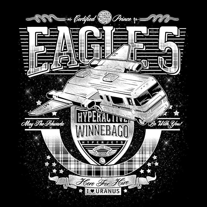 Eagle 5 Hyperactive Winnebago Spaceballs Women's T-Shirt by Create Or Destroy - Cloud City 7