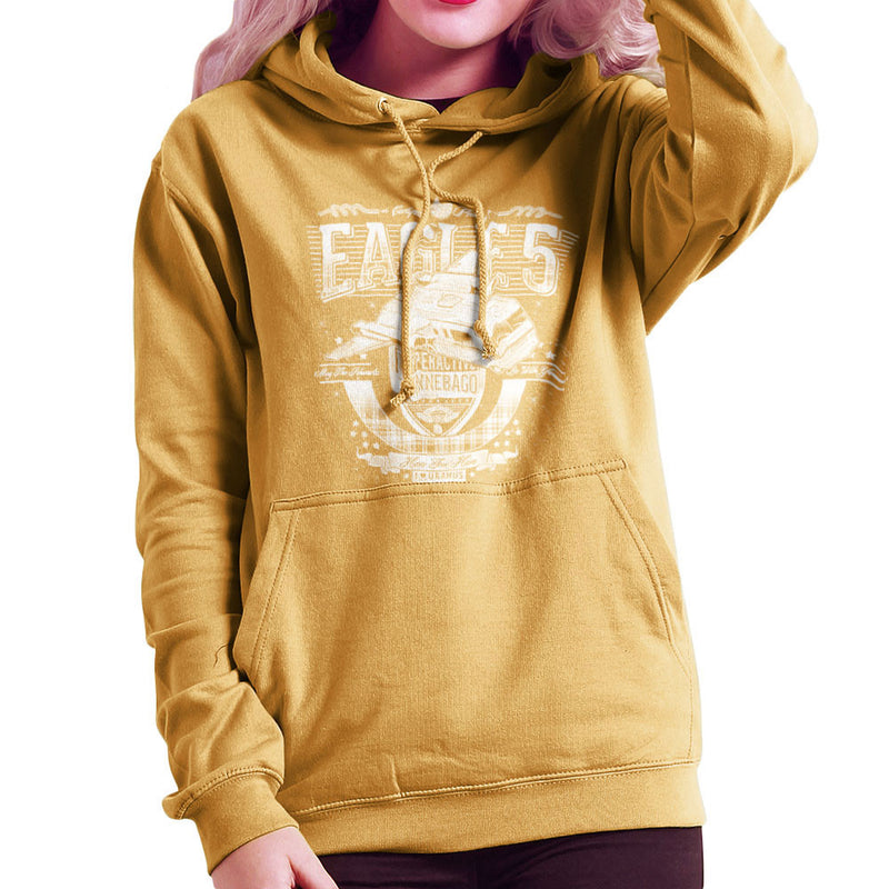 Eagle 5 Hyperactive Winnebago Spaceballs Women's Hooded Sweatshirt by Create Or Destroy - Cloud City 7