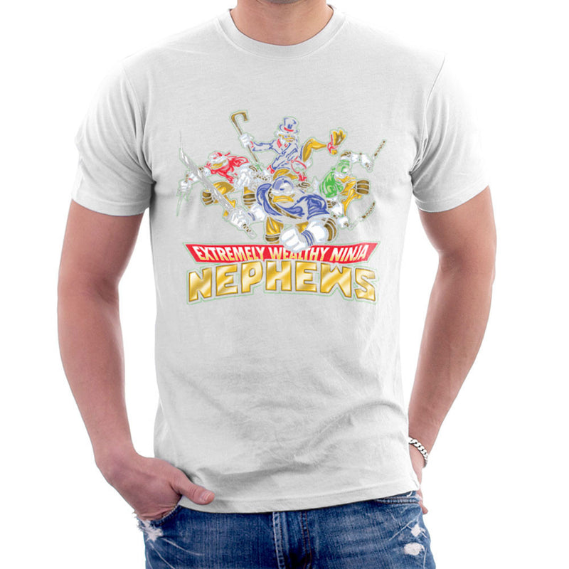 Extremely Wealthy Ninja Nephews DuckTales TMNT Men's T-Shirt by Create Or Destroy - Cloud City 7