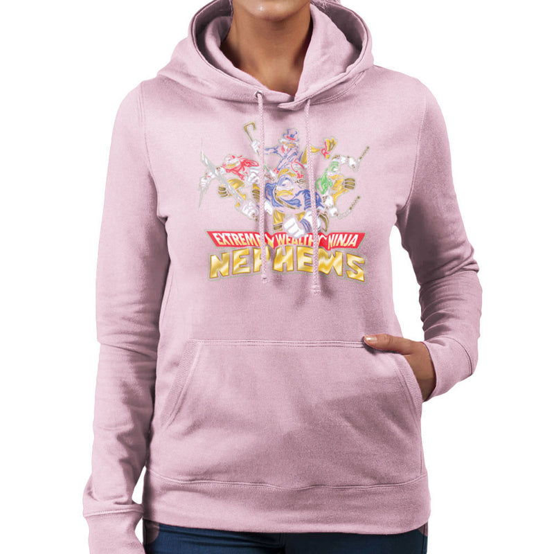 Extremely Wealthy Ninja Nephews DuckTales TMNT Women's Hooded Sweatshirt by Create Or Destroy - Cloud City 7