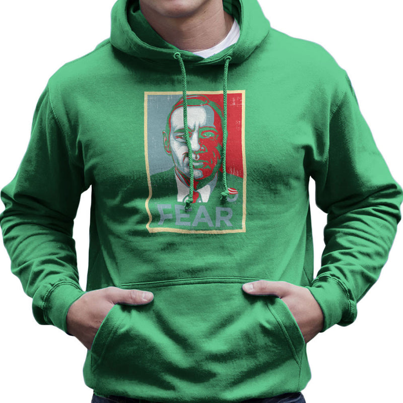 Fear Francis Underwood House Of Cards Men's Hooded Sweatshirt by Create Or Destroy - Cloud City 7