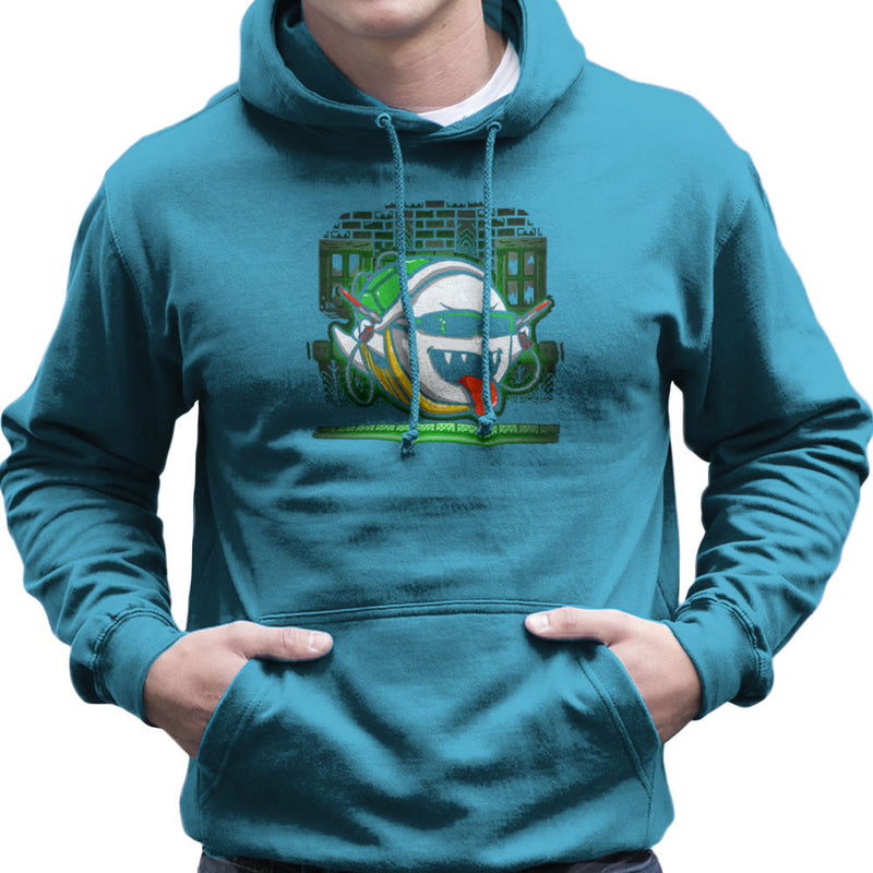 Ghost In The Shell Super Mario Bros Men's Hooded Sweatshirt by Create Or Destroy - Cloud City 7