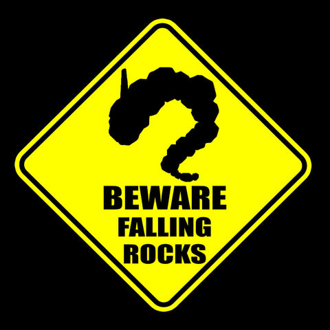 Pokemon Warning Sign Beware Falling Rocks Onix