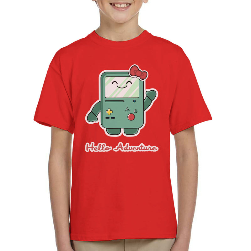 Adventure Time Hello BMO Games Console Kid's T-Shirt by Kempo24 - Cloud City 7