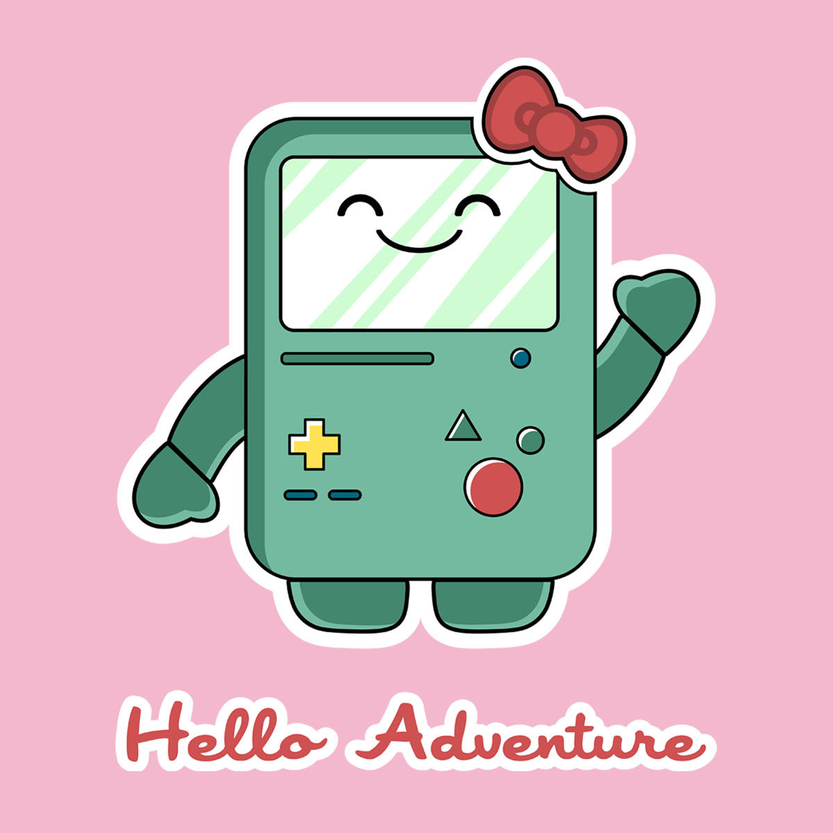 Adventure Time Hello BMO Games Console design Cloud City 7 - 1