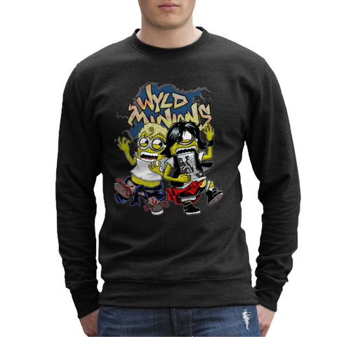 A Most Despicable Adventure Wyld Minions Bill And Ted Men's Sweatshirt