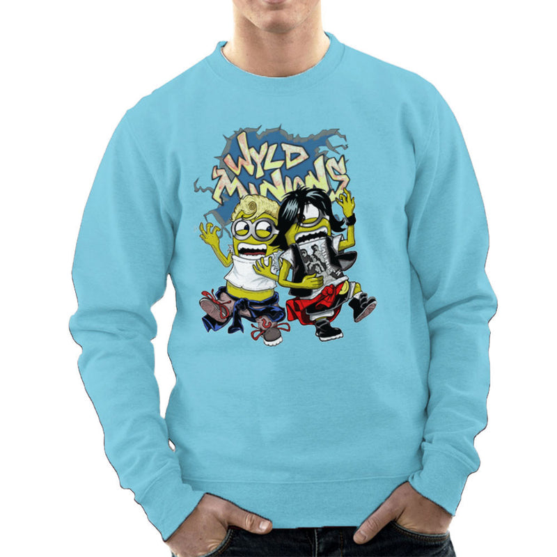 A Most Despicable Adventure Wyld Minions Bill And Ted Men's Sweatshirt by Mannart - Cloud City 7