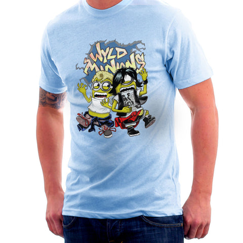A Most Despicable Adventure Wyld Minions Bill And Ted Men's T-Shirt