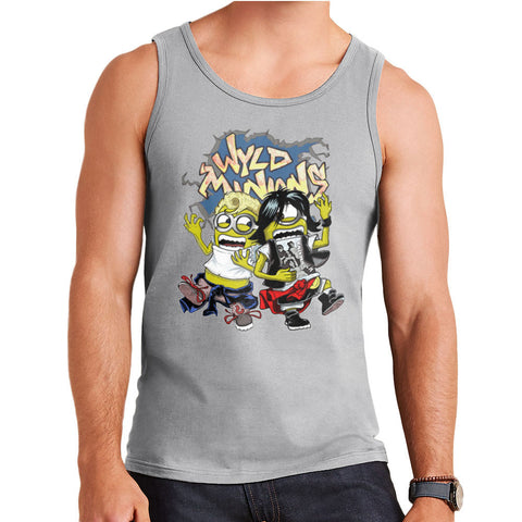 A Most Despicable Adventure Wyld Minions Bill And Ted Men's Vest