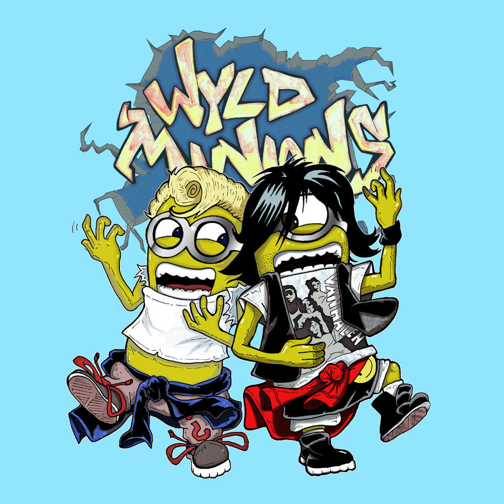 A Most Despicable Adventure Wyld Minions Bill And Ted design Cloud City 7 - 1