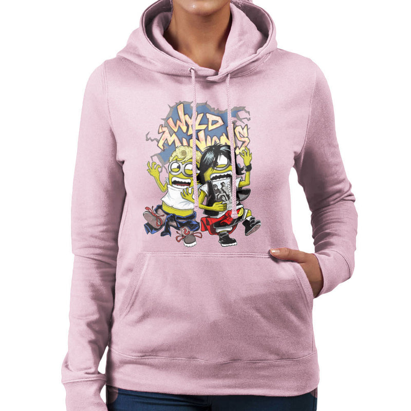 A Most Despicable Adventure Wyld Minions Bill And Ted Women's Hooded Sweatshirt by Mannart - Cloud City 7