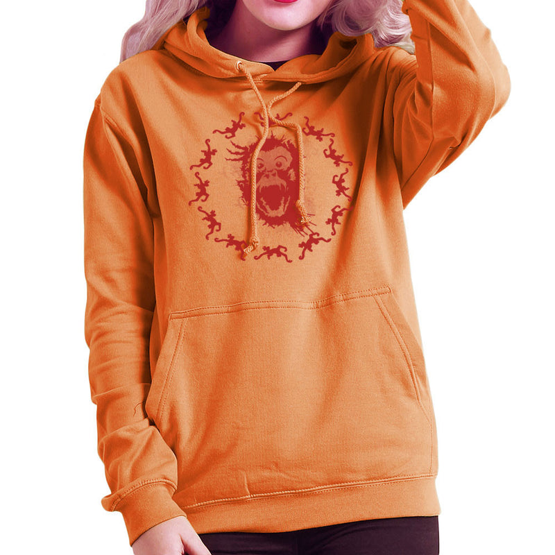 Army Of The Curious 12 Women's Hooded Sweatshirt by Mannart - Cloud City 7