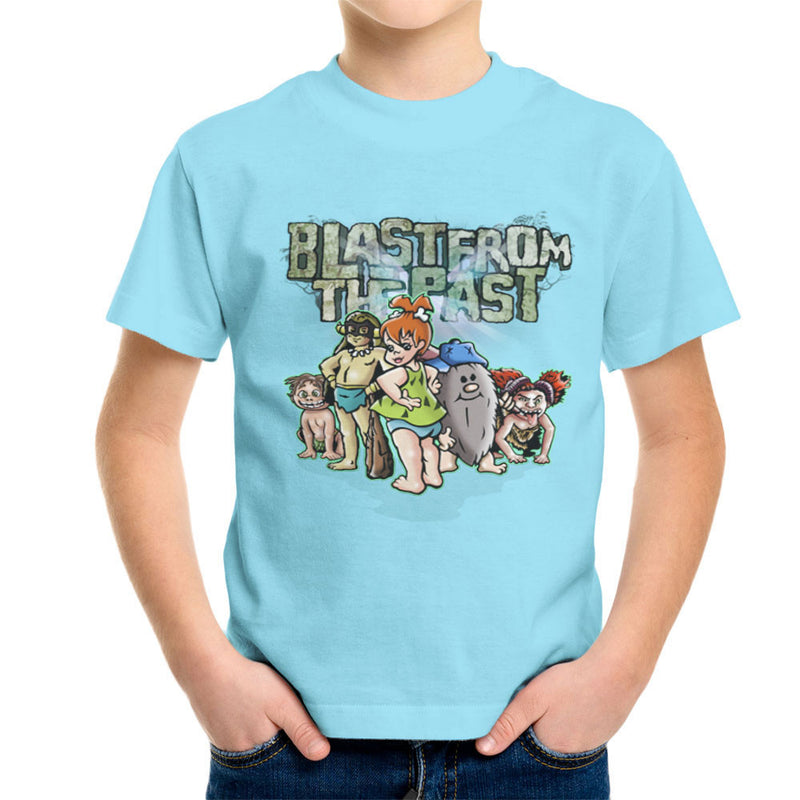 Blast From The Past Kid's T-Shirt by Mannart - Cloud City 7
