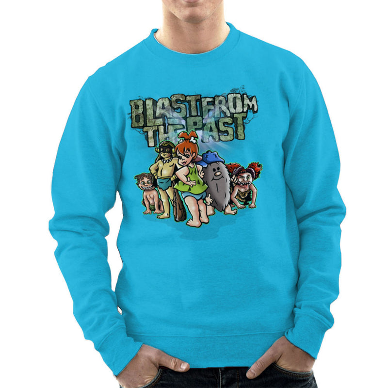 Blast From The Past Men's Sweatshirt by Mannart - Cloud City 7