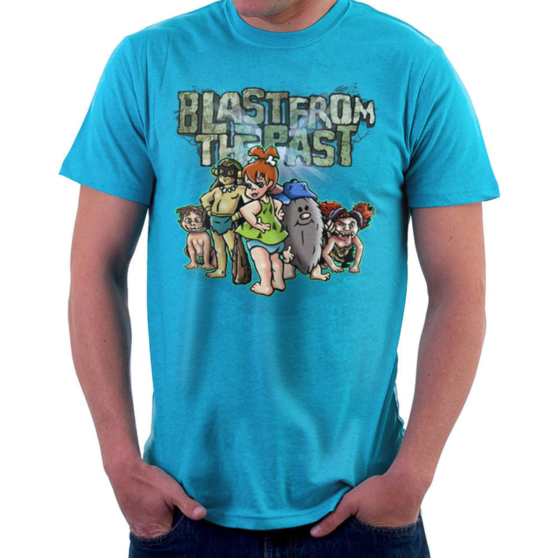 Blast From The Past Men's T-Shirt by Mannart - Cloud City 7