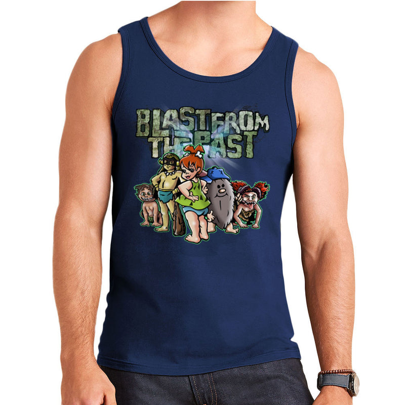 Blast From The Past Men's Vest by Mannart - Cloud City 7