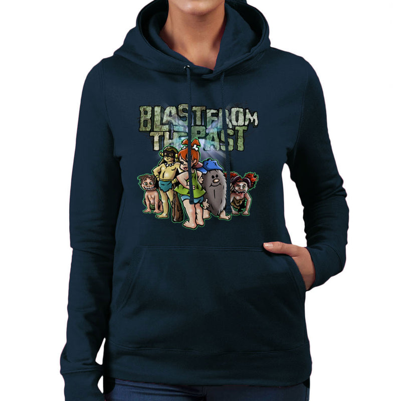 Blast From The Past Women's Hooded Sweatshirt by Mannart - Cloud City 7