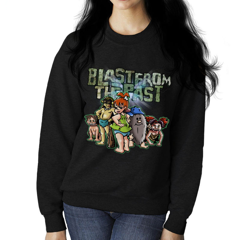 Blast From The Past Women's Sweatshirt by Mannart - Cloud City 7