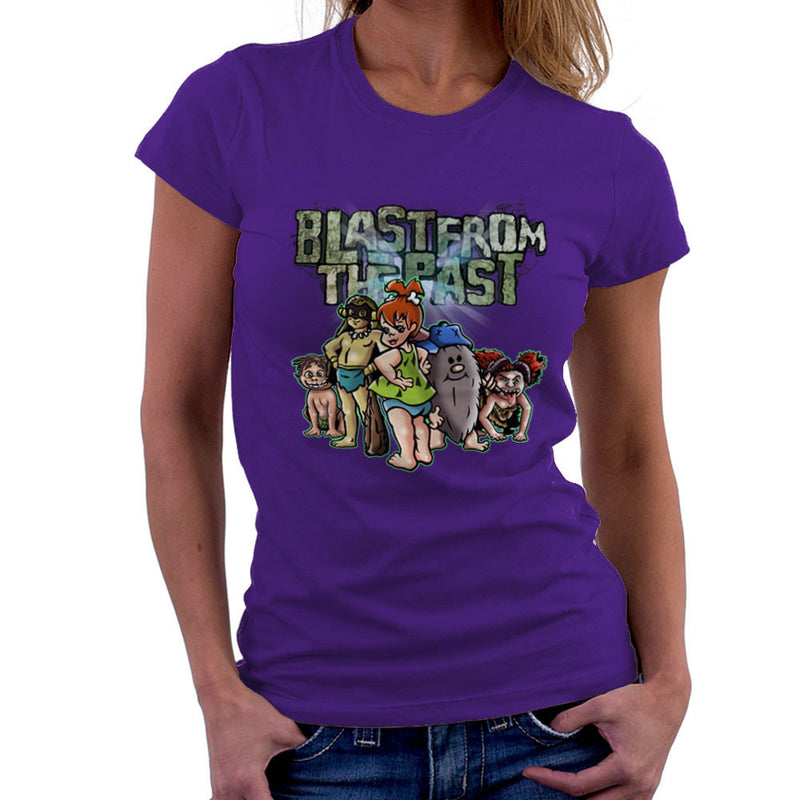 Blast From The Past Women's T-Shirt by Mannart - Cloud City 7