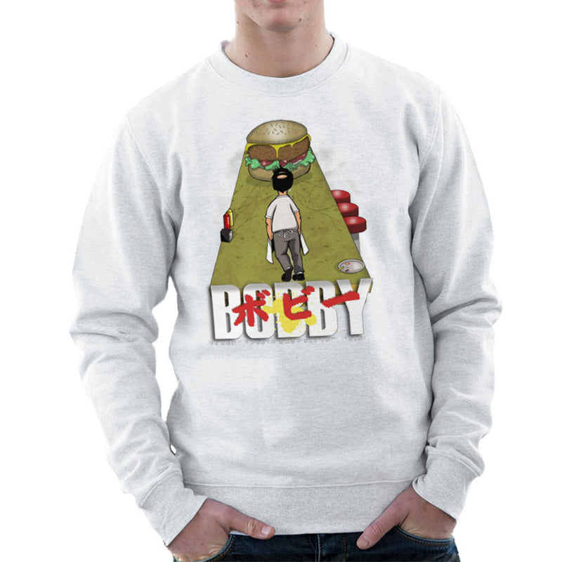 Bobby Akira Bobs Burgers Men's Sweatshirt by Mannart - Cloud City 7