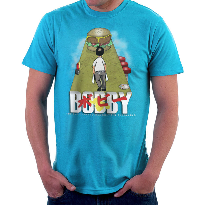 Bobby Akira Bobs Burgers Men's T-Shirt by Mannart - Cloud City 7