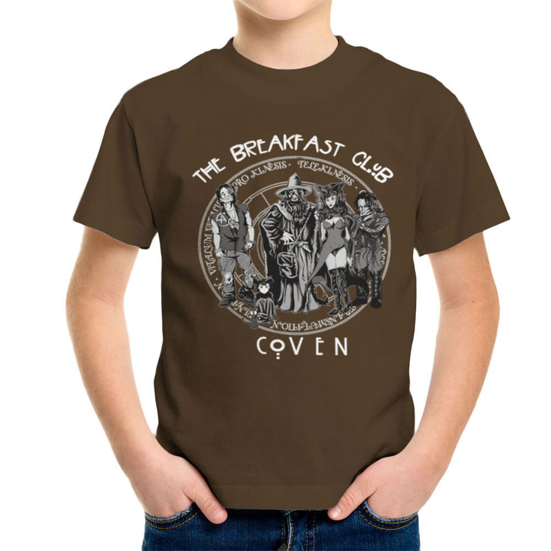 Breakfast Coven Magic Kid's T-Shirt by Mannart - Cloud City 7