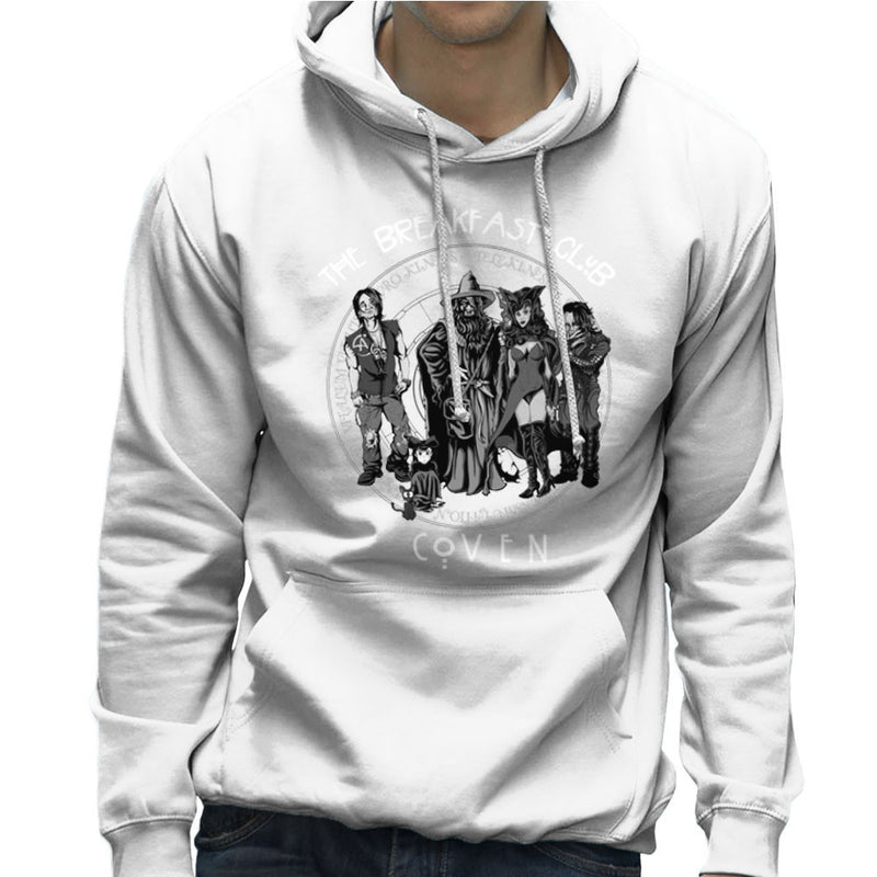 Breakfast Coven Magic Men's Hooded Sweatshirt by Mannart - Cloud City 7