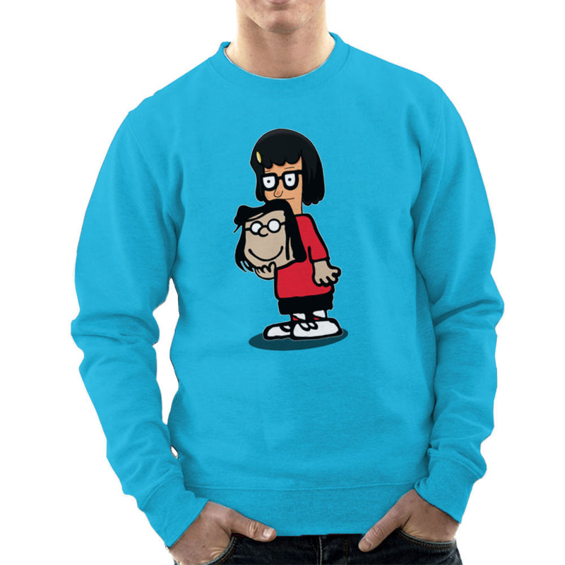 Buts Sir Tina Marcie Bobs Burgers Peanuts Men's Sweatshirt by Mannart - Cloud City 7