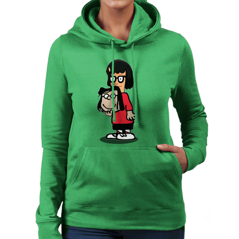 Buts Sir Tina Marcie Bobs Burgers Peanuts Women's Hooded Sweatshirt by Mannart - Cloud City 7