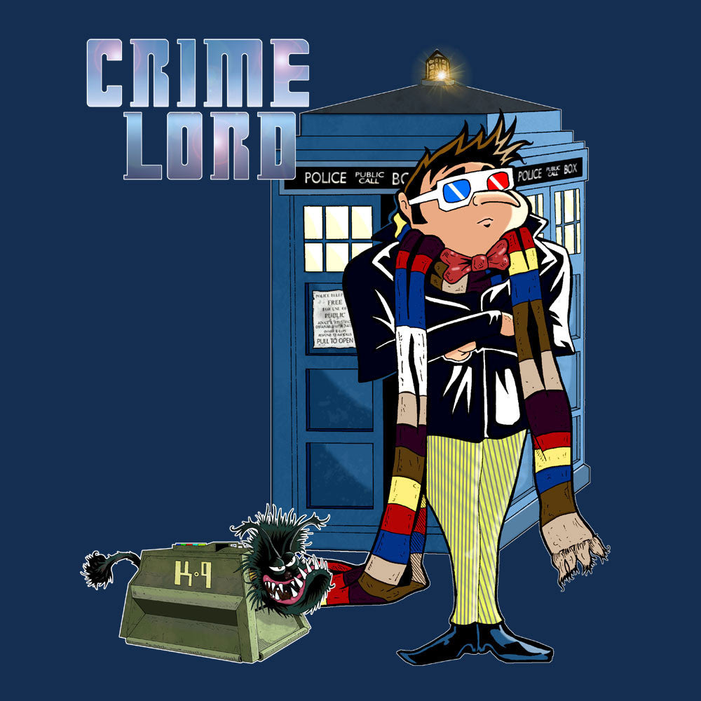Crime Lord Doctor Who Tardis Gru Despicable Me design Cloud City 7 - 1