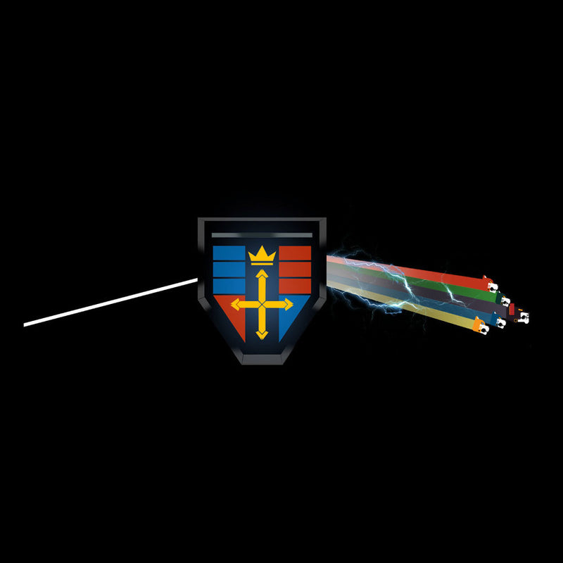 Dark Side Of The Lion Voltron Pink Floyd by Mannart - Cloud City 7