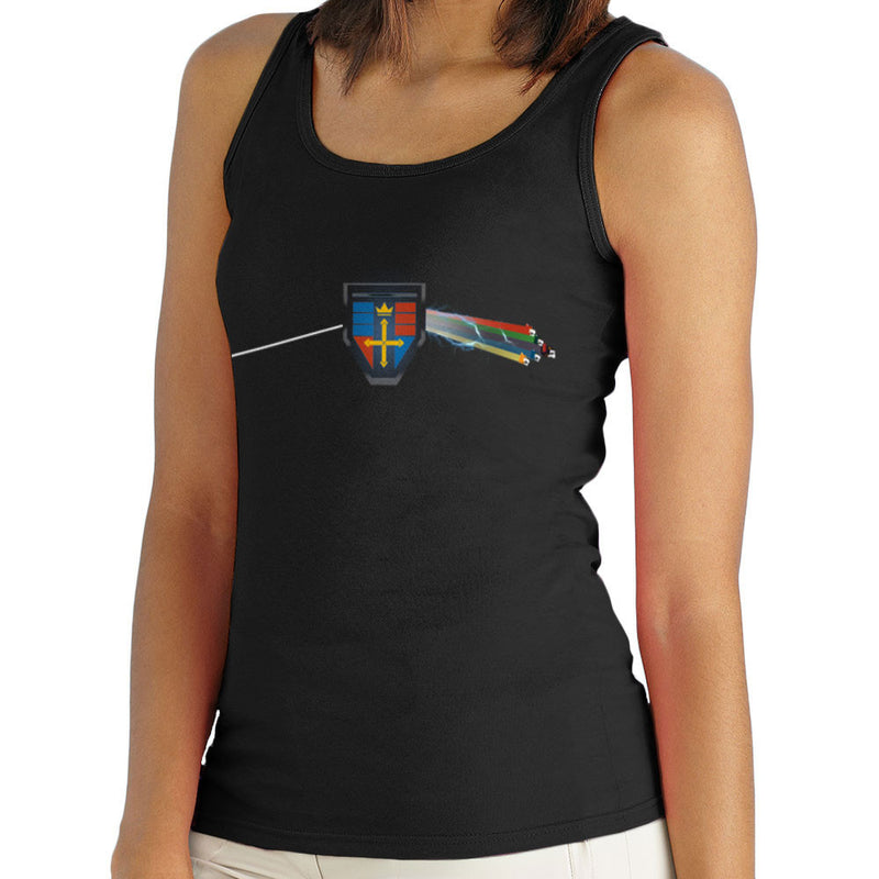 Dark Side Of The Lion Voltron Pink Floyd Women's Vest by Mannart - Cloud City 7