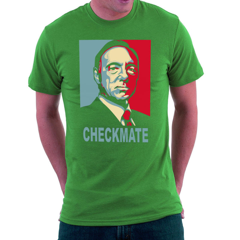Checkmate House Of Cards Francis Underwood Men's T-Shirt by Donnie - Cloud City 7