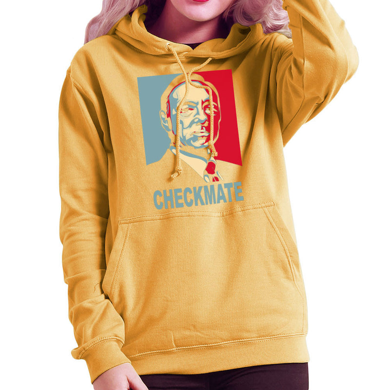 Checkmate House Of Cards Francis Underwood Women's Hooded Sweatshirt by Donnie - Cloud City 7