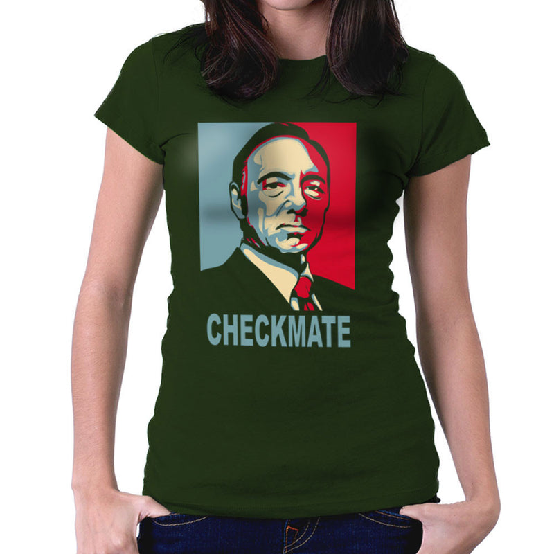 Checkmate House Of Cards Francis Underwood Women's T-Shirt by Donnie - Cloud City 7